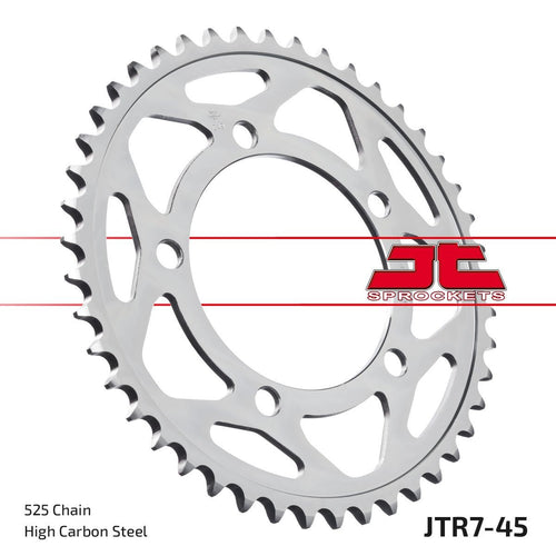 JT REAR SPROCKET JTR7.45ZBK BMW S1000RR - LRL Motors