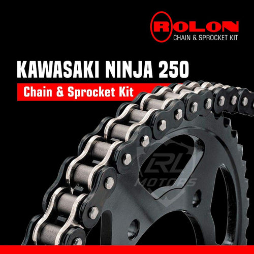 Kawasaki Ninja 250 Rolon chain & Sprocket Kit - LRL Motors