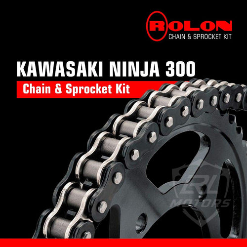 Kawasaki Ninja 300 Rolon chain & Sprocket Kit - LRL Motors