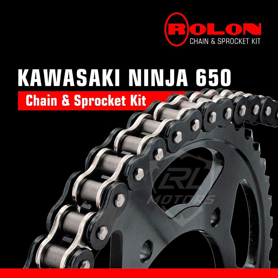 Kawasaki Ninja 650R Rolon chain & Sprocket Kit - LRL Motors
