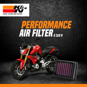 K&N Air Filter BMW G 310 R - LRL Motors