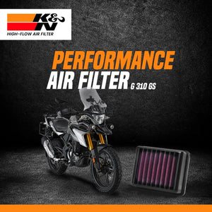 K&N Air Filter BMW GS 310 - LRL Motors