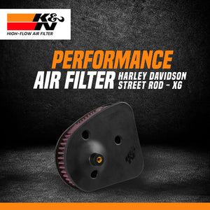 K&N Air Filter Harley Davidson STREET ROD 750 2017 - LRL Motors