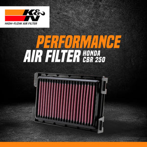 K&N air filter Honda CBR 250 - LRL Motors