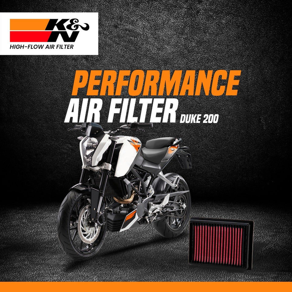 K&N Air Filter KTM Duke 200 - LRL Motors