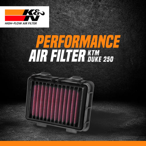 K&N Air Filter KTM DUKE 250 - LRL Motors