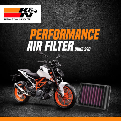 K&N Air Filter KTM DUKE 390 2017 to till date - LRL Motors