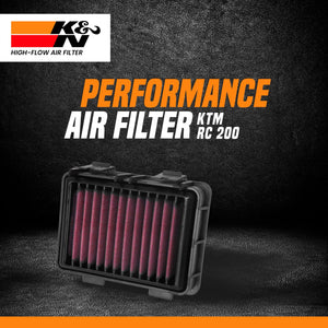 K&N Air Filter KTM RC 200 - LRL Motors