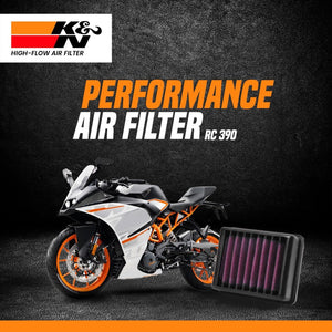K&N Air Filter KTM RC 390 - LRL Motors