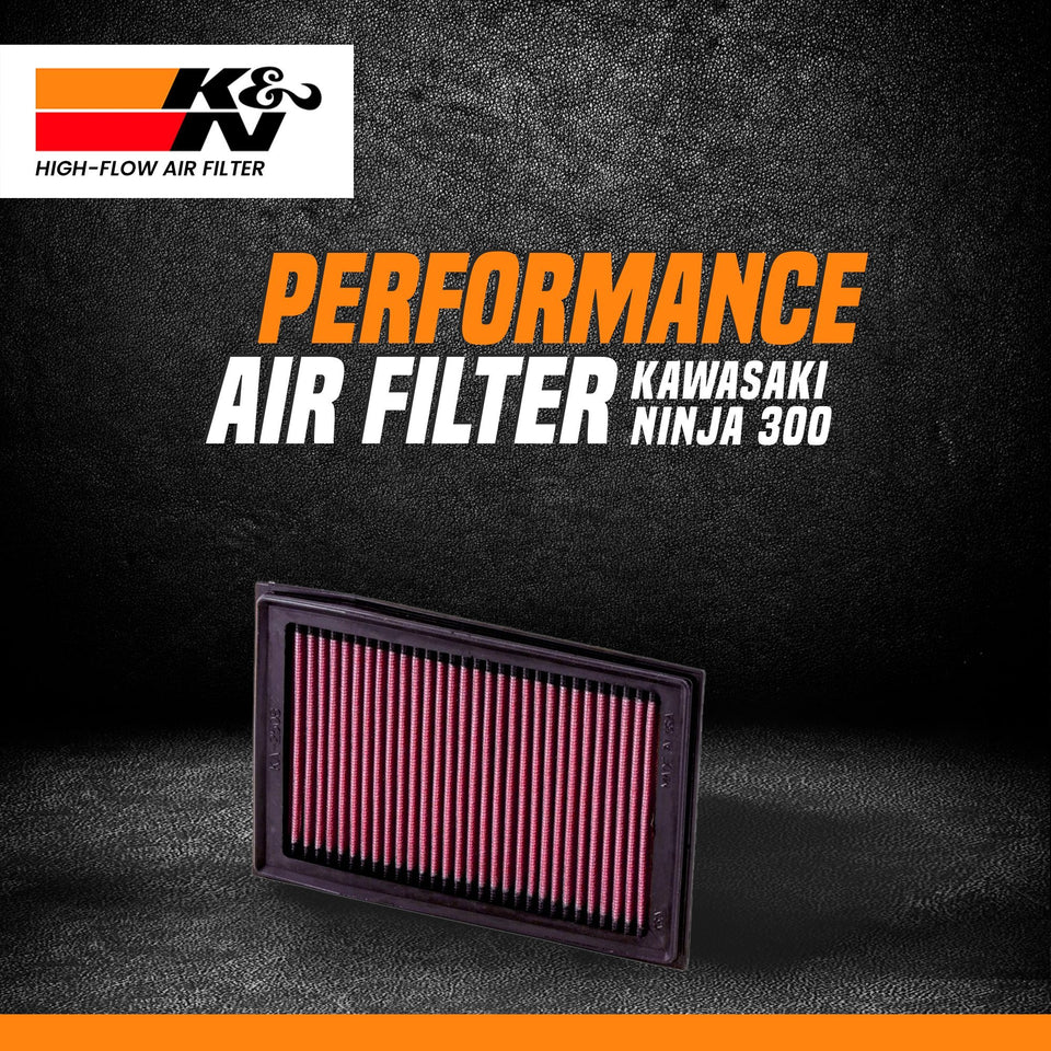 K&N air filter NINJA 250/300 - LRL Motors