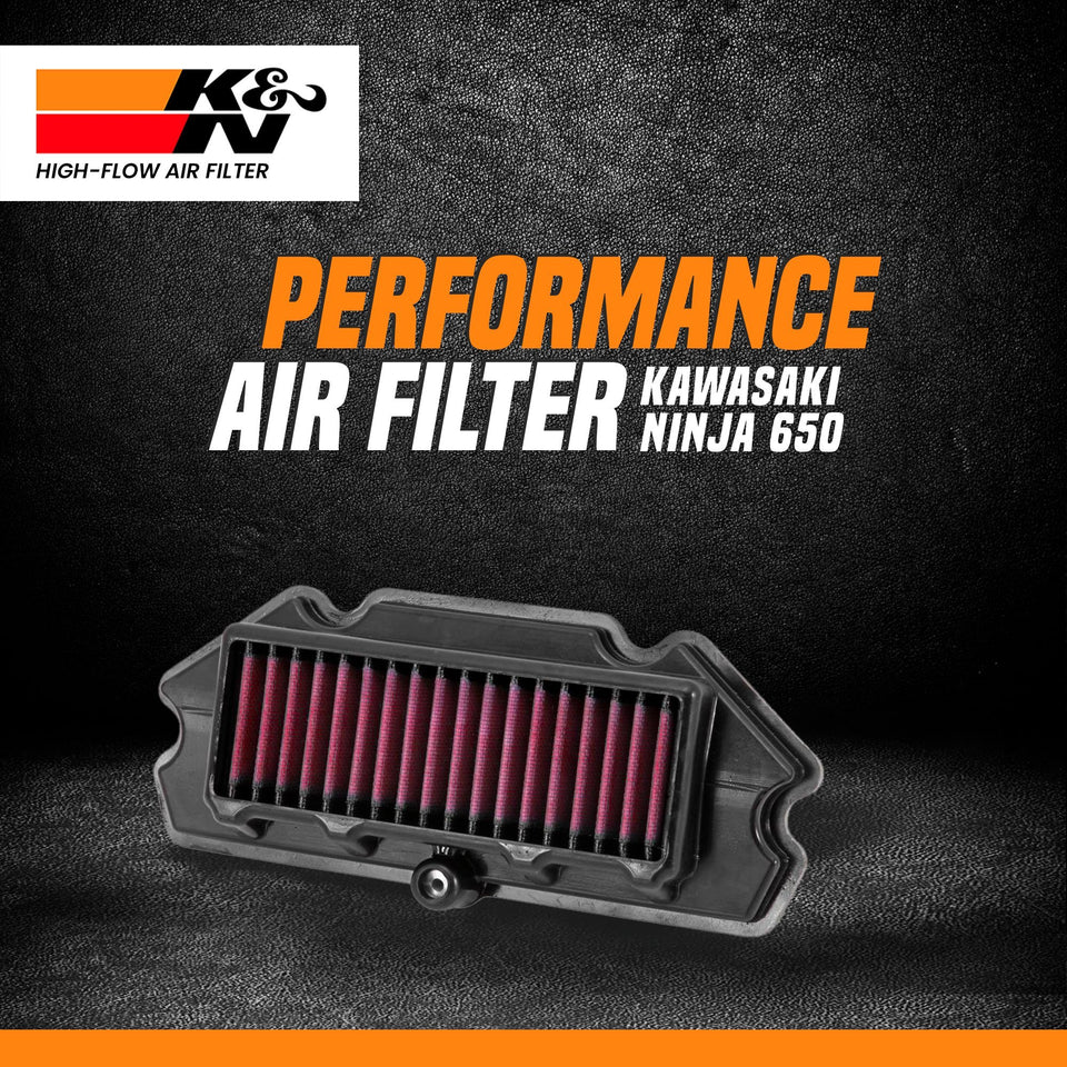 K&N air filter NINJA 650/ERN 650 - LRL Motors