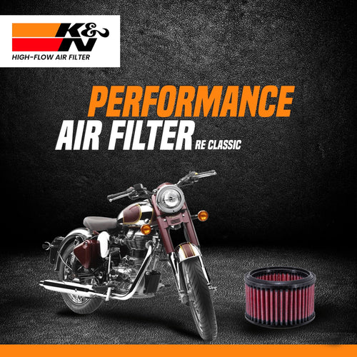 K&N Air Filter Royal Enfield Classic 350/500 - LRL Motors