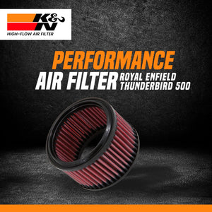 K&N Air Filter Royal Enfield Thunderbird 350/500 - LRL Motors