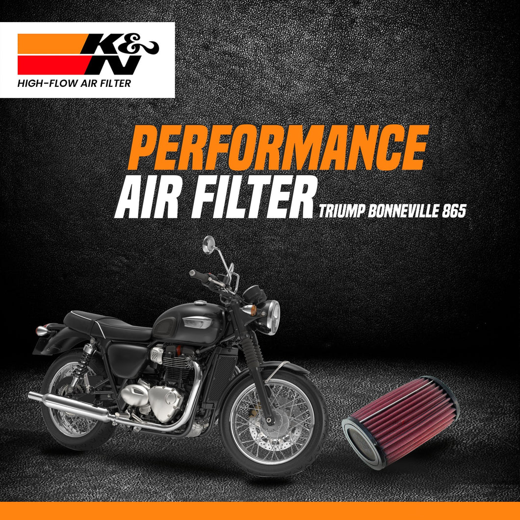 K&N air filter Triumph Bonneville - LRL Motors