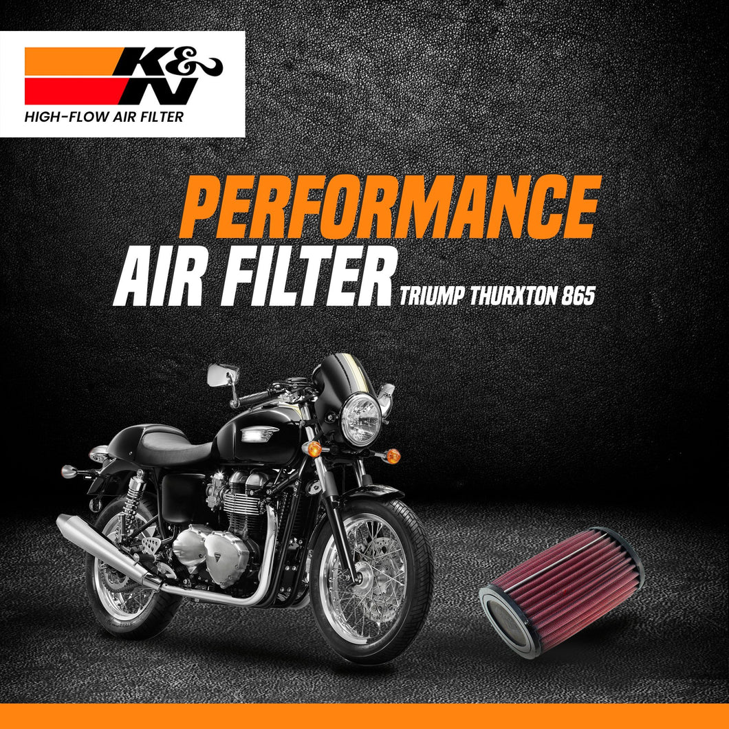 K&N air filter Triumph Thurxton 865 - LRL Motors