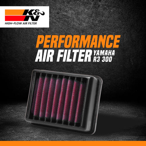 K&N air filter YAMAHA R3 - LRL Motors