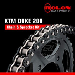 KTM 200 Rolon Chain & Sprocket kit - LRL Motors