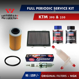 KTM 390 & 250 Full service pack - LRL Motors