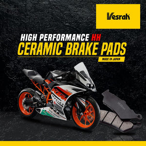 KTM 390 front brake pad (Ceramic) - LRL Motors