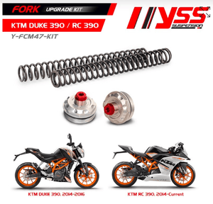 KTM Duke 390 YSS Fork upgrade Kit - LRL Motors