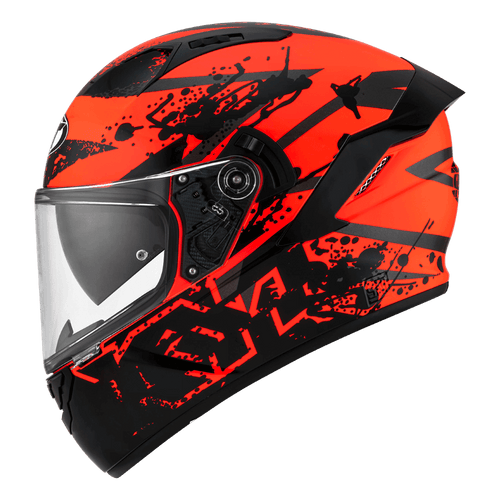 KYT NFR neutron red Full Face Helmet - LRL Motors