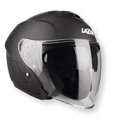 Lazer Helmet Tango Hexa Black White Dark Grey