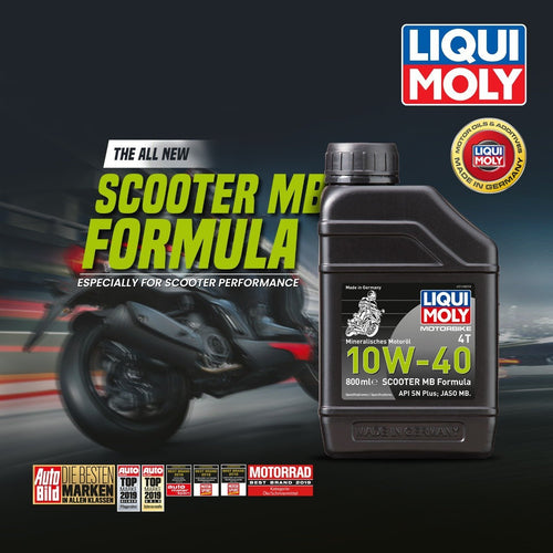 Liqui Moly 10w40 Scooter MB 800 ML - LRL Motors