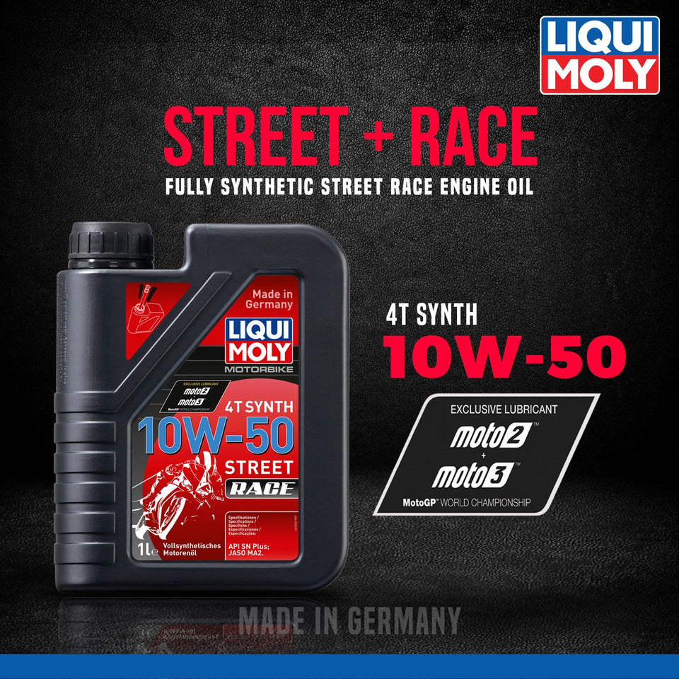 Liqui Moly 10W50 Street Race fully synthetic - LRL Motors