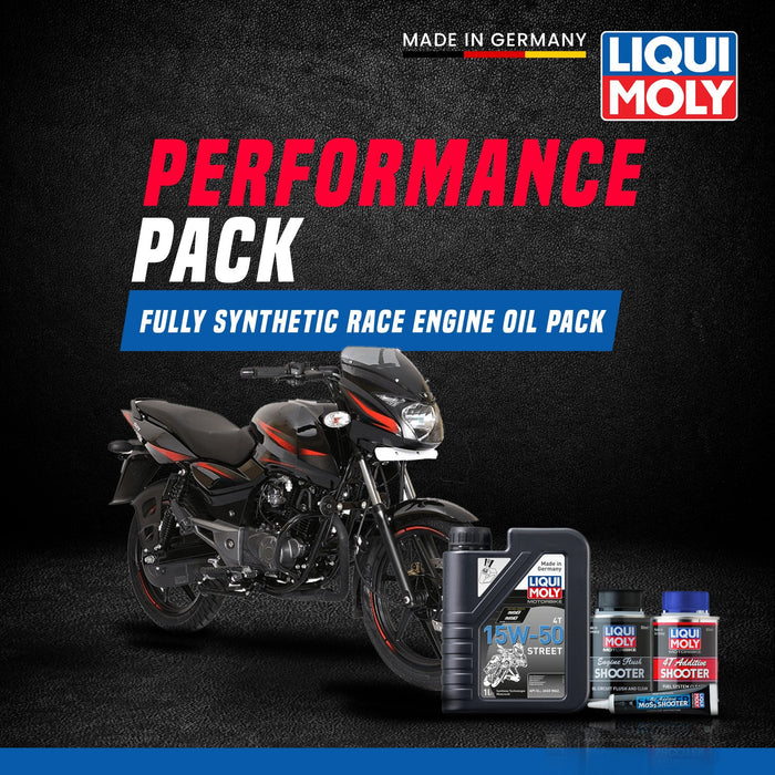 Liqui Moly Bajaj Pulsar 150 Performance Pack - LRL Motors