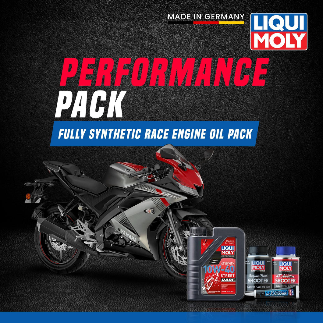 Liqui Moly Yamaha R15 Performance pack - LRL Motors