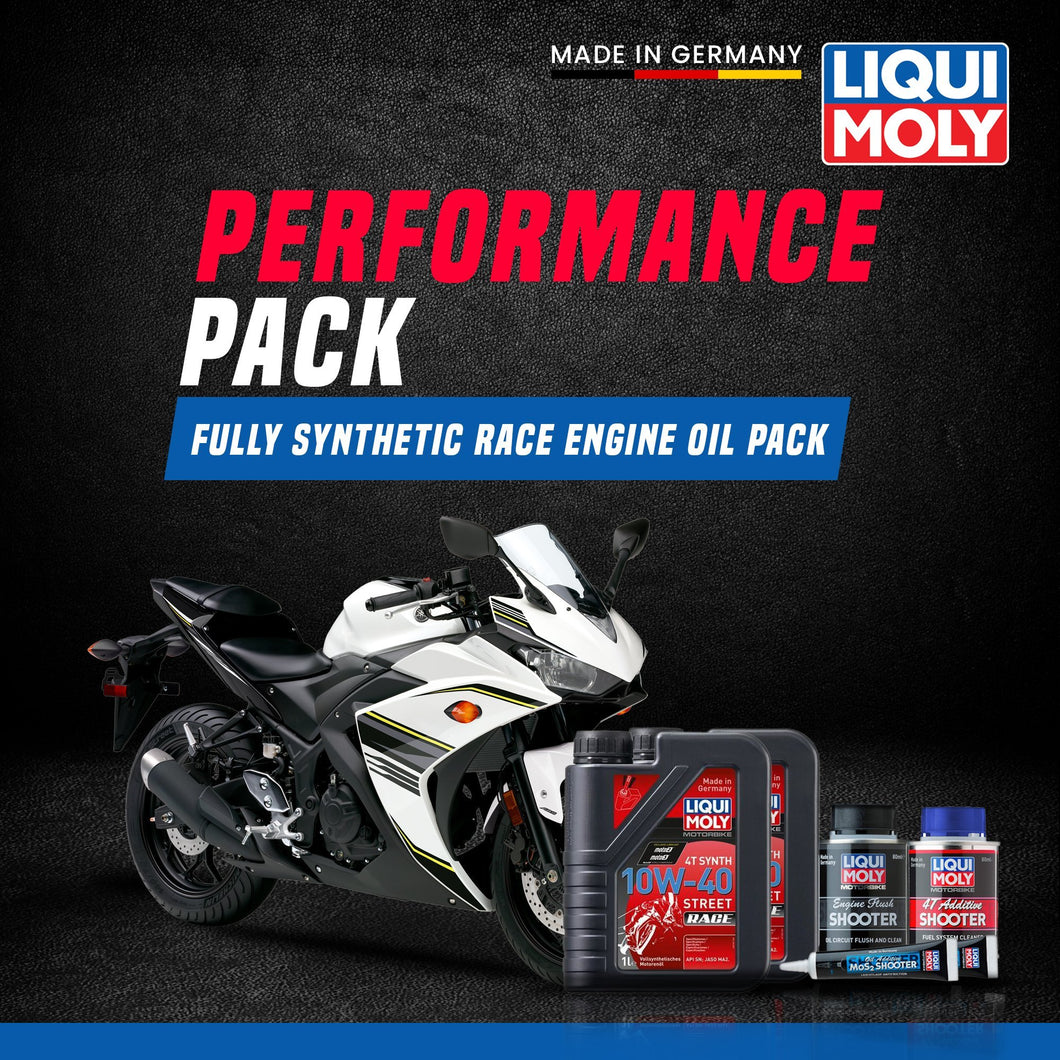Liqui Moly Yamaha R3 full race performance pack - LRL Motors