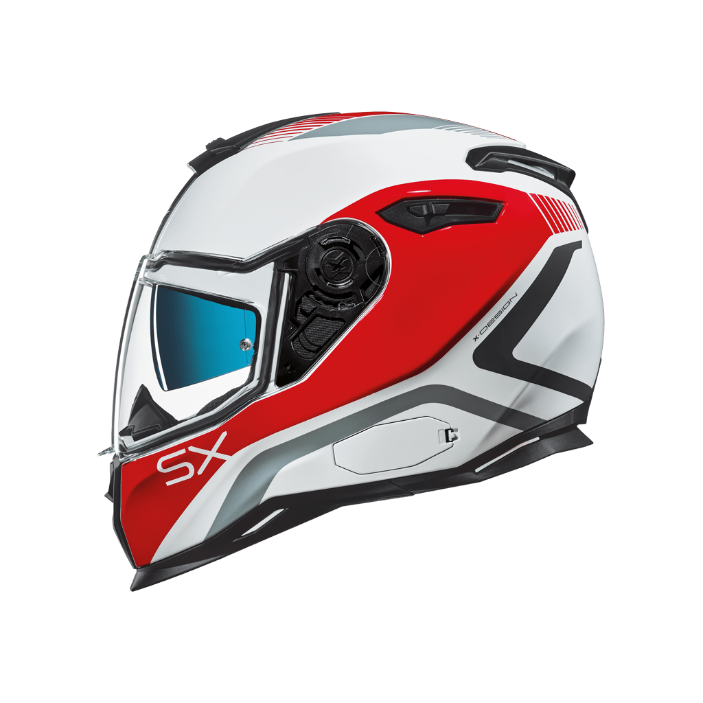 Nexx SX 100 Popup Red - LRL Motors