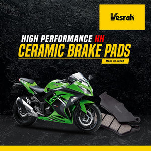Ninja 400 rear brake pad (Ceramic) - LRL Motors