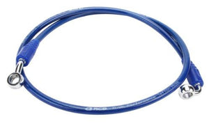 Racing boy Teflon brake Hose 850 MM blue - LRL Motors