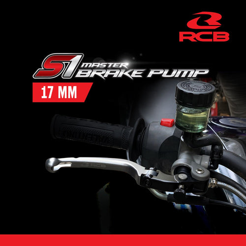 RCB Master Brake Pump 17MM - LRL Motors