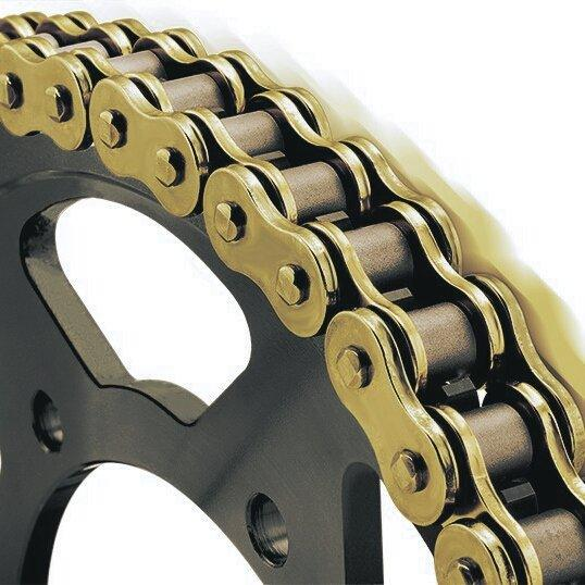 Royal Enfield Classic Stealth Black 500cc Rolon Brass chain & Sprocket Kit - LRL Motors