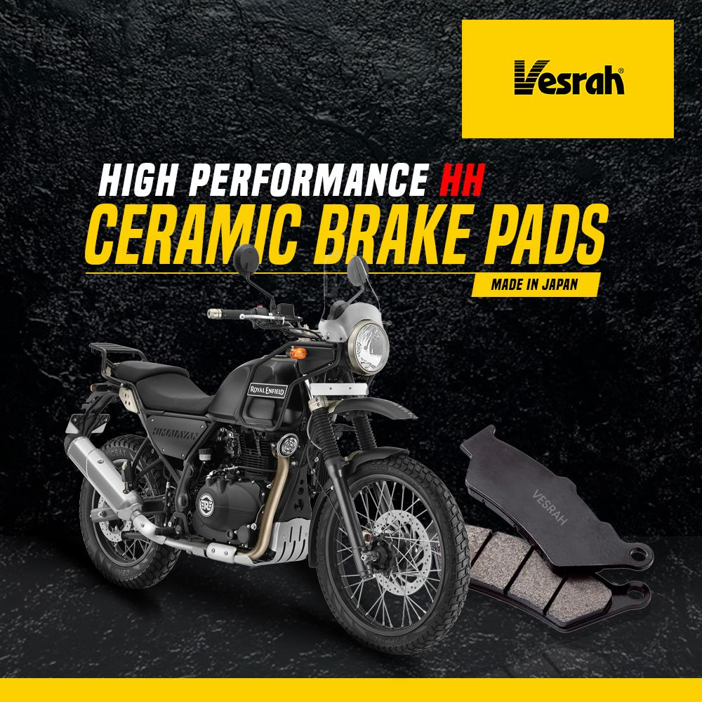 Royal Enfield Himalayan rear brake pad (Ceramic) - LRL Motors
