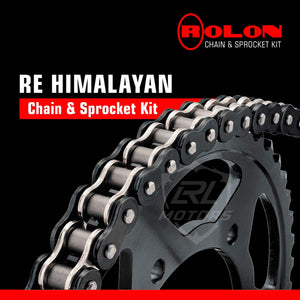 Royal Enfield Himalayan Rolon chain & Sprocket Kit - LRL Motors