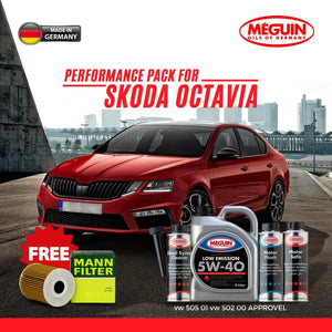 Skoda New Octavia Engine Oil pack - LRL Motors
