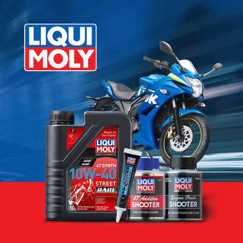 Suzuki GIXXER 150 engine oil Performance Pack - LRL Motors