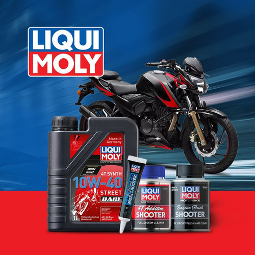 TVS Apache RTR 160 engine oil Performance pack - LRL Motors