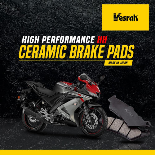 Yamaha R15 v1 rear brake pad (Ceramic) - LRL Motors