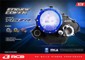 Yamaha R15 V2 Engine cover with out kickstart - LRL Motors