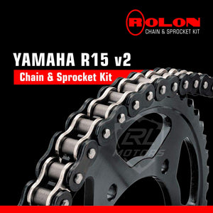 Yamaha R15 V2 Rolon Chain & Sprocket - LRL Motors