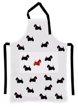 Apron (Heavy Drill) - Scottie Dog - Allgifts Australia