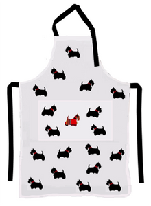 Apron (Heavy Drill) - Scottie Dog
