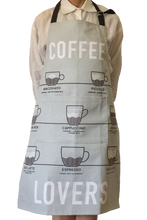 Apron (Heavy Drill) - Coffee Lovers