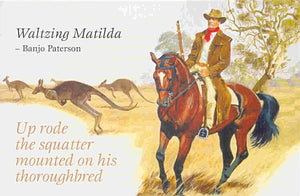 Greeting Cards - Banjo Paterson - Allgifts Australia