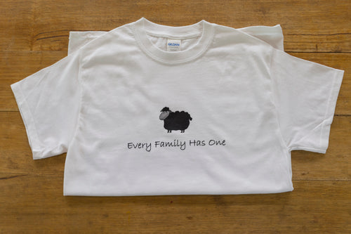 'Every Family Has One' Black Sheep T-Shirt - Allgifts Australia