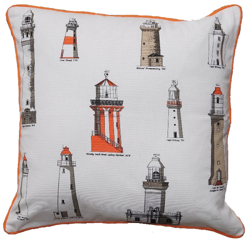 Cushion Cover - Lighthouses - Allgifts Australia